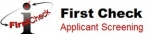 First Check Applicant Screening